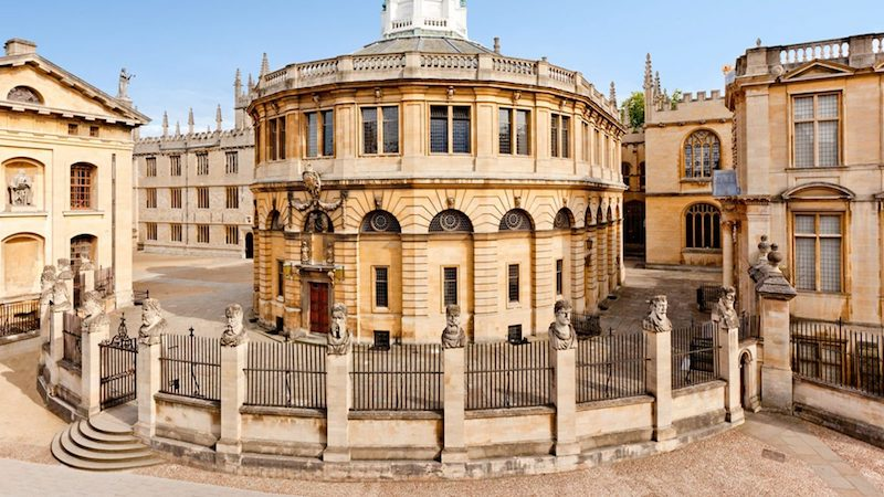 Oxford Sheldonian Theatre by Christopher Wren